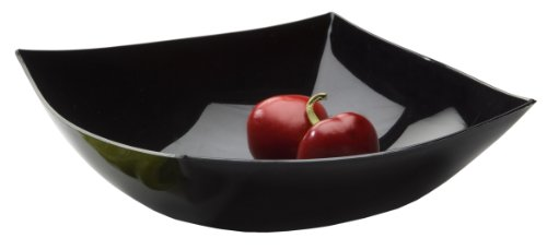 EMI Yoshi Koyal Disposable Square Bowls, 32-Ounce, Black, Set of 50 from EMI Yoshi