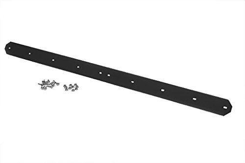 54 Black Virgin UHMW Heavy Duty Wear Bar / Scraper / Cutting Edge for John Deere Blade (Snow Bar Wear Plow)