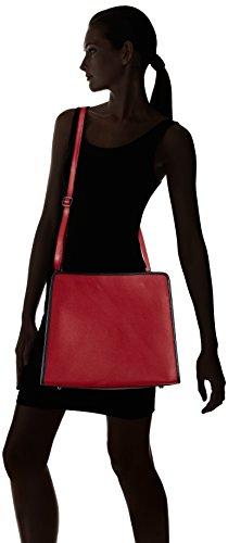Bolso Rojo Rosso Hombro De 8877 rosso Chicca Borse Mujer Fwq1UU