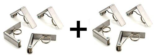 Rsvp Endurance Spring (RSVP Endurance Stainless Steel Table Cloth Clip, Set of)