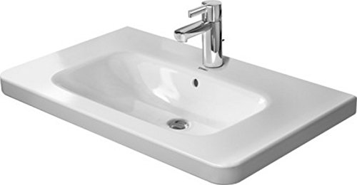Duravit 2320800000 Furniture basin 80 cm DuraStyle white, with OF. with TP, 1 TH, ()