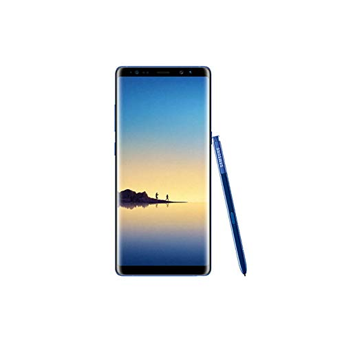 Samsung Galaxy Note 8 64GB Deep Sea Blue GSM Unlocked Smartphone, (Renewed)