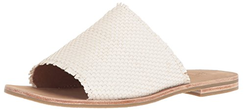 FRYE Women Riley Woven Slide Sneaker White