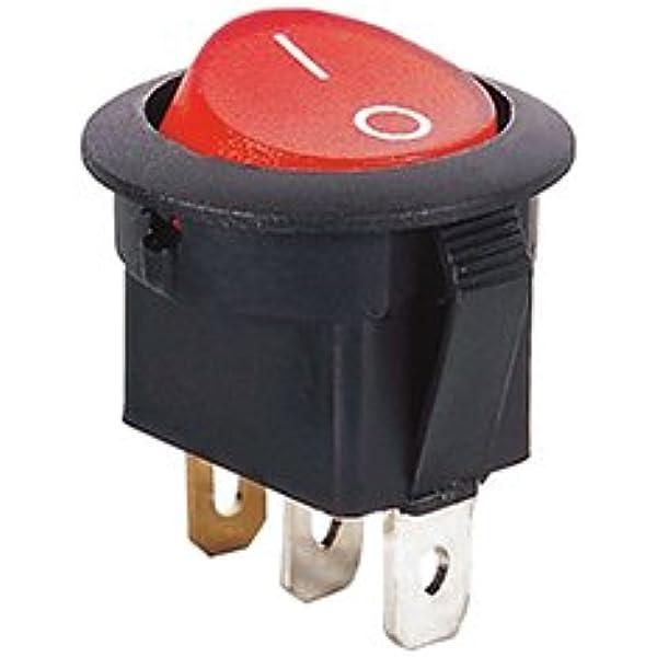 Sea-Dog Rocker Switch Single Pole Illuminated #420258-1