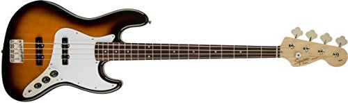 - Squier by Fender Affinity Series Jazz Bass - Laurel Fingerboard - Brown Sunburst