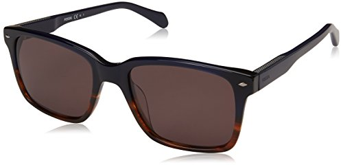 Fossil Men's Fos 2076/s Square Sunglasses, Hvna Blue, 54 mm -  Fossil Eyewear, 2076-S