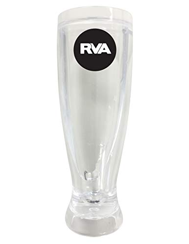 Richmond Virginia RVA Trendy Souvenir 16oz Clear Glass Frosty Mug (Imports Richmond Va Richmond)