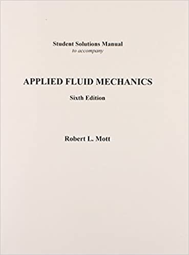 Applied Fluid Mechanics Robert L Mott Pdf