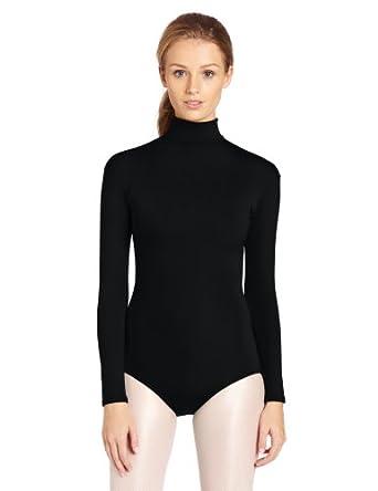 Amazon.com: Capezio Women's Turtleneck Long Sleeve Leotard