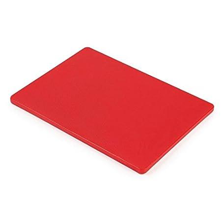 Hygiplas GH794tabla de cortar pequeña, 229x 305x 12mm, color rojo 23001