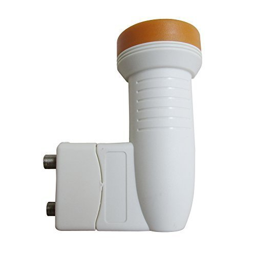 Dual Directv Lnb (Dual Output KU Band LNB High Gain Universal Ku Band Twin Output Hd LNB Lnbf Two Output LNB)