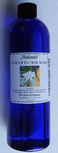 Orange Flower Water 4 oz. Malandel