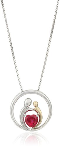 Diamond Accent Circle Pendant - 4