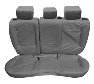 Inka Evoque 5 Door Tailored Waterproof Rear Seat Covers without Centre Armrest 2011-2016 Heavy Duty Right & Left Hand Drive Grey - INK-WSC-3599: