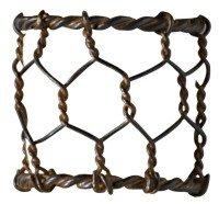 Chicken Wire Napkin Ring, Set of 4