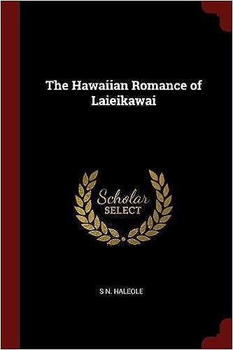 Book The Hawaiian Romance of Laieikawai