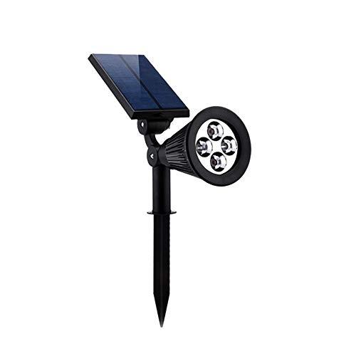 KMYX LED Solar Lawn Light Grass Spotlight Plug-in Photo Tree Villa Garden Wall Lantern Outdoor Ground Floor Garden Lights Waterproof IP65 (Color : Colorful Light)