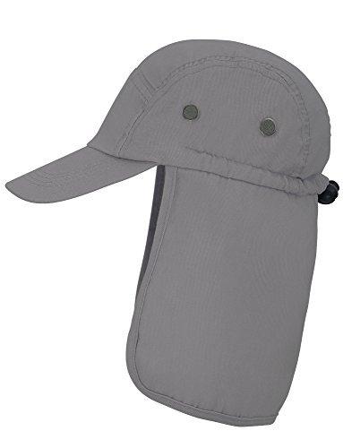 86ade328e24 EPYA Unisex Safari Hat Sun Protection Outdoors Neck Flap Cap