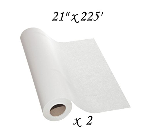 "2 Rolls of Medical Pattern Paper - 21"" x 225' - Pattern Making, Drafting, and Tracing"