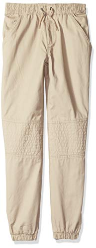 U.S. Polo Assn. Boys Twill Jog Pant with Quilted Knee