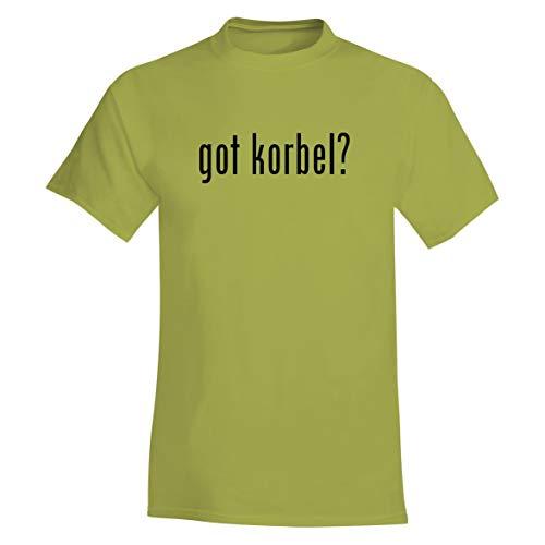 (The Town Butler got Korbel? - A Soft & Comfortable Men's T-Shirt, Yellow, Small)