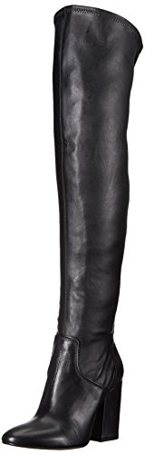 Charles David Women's Clarice Over The Knee Boot, Black, 39 Medium EU (9 US) by Charles David