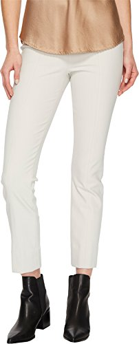 Vince Women's Stitch Front Seam Legging Pants, Gesso, Off White, Small