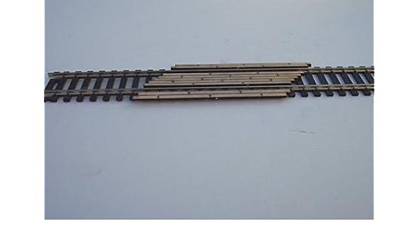 Osborn Models HO Scale LEVEL CROSSING BOARDS Set of 4 EZ Assembly New #RRA1020