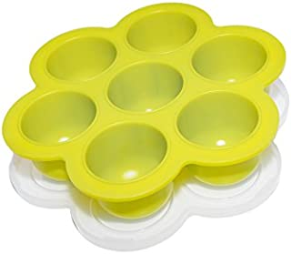 product image for Silicone Baby Food Storage Container - Egg Bites Mold for Instant Pot Accessories - Fits 5,6,8 qt Pressure Cooker - Reusable Freezer Tray with Lid - Made-in-USA