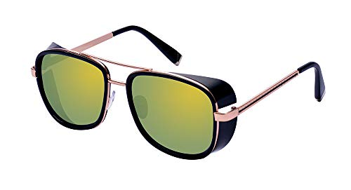 Outray Unisex Cover Side Shield Square Sunglasses A15 ()