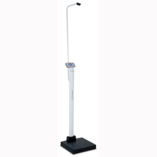 Detecto, Apex Digital Clinical Scale, Mechanical Height Rod, 600 lb x 0.2 lb / 300 kg x 0.1 kg