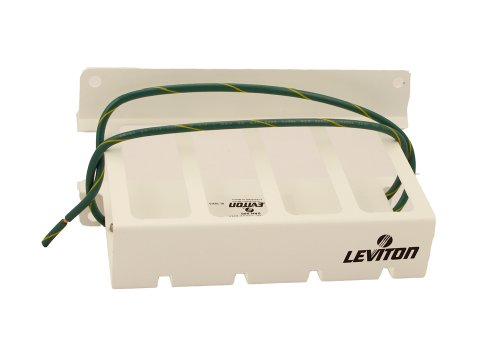 Leviton 3950-BKT Surge Module Adapter Bracket, For Use with Leviton Structured Media Centers