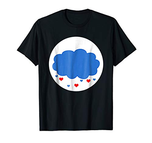 Cloud Heart Rain Matching Halloween Costume Family T-shirt ()