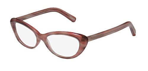 Elizabeth And James Valencia For Ladies/Women Cat Eye Full-Rim Shape Premium Quality Eyes Eyeglasses/Eyewear (52-16-140, Dirty Pink) (52 16 140 Brille)