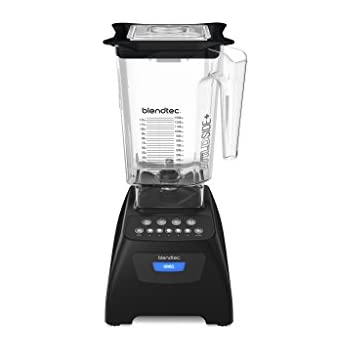 Blendtec C575A2301A-RECOND Blendtec Classic 575 Certified Reconditioned with WildSide Jar, Black