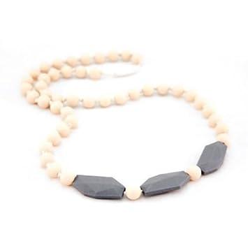 Amazon.com: milkdaze dentición joyas – Collar CHARLOTTE ...