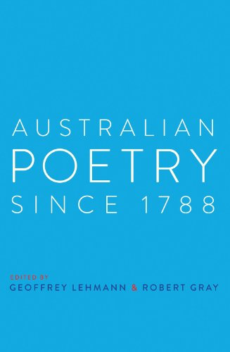 Australian Poetry Since 1788 by University of New South Wales Press