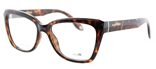 Givenchy GV 0005 LSD Havana Plastic Cat-Eye Eyeglasses - Designer Eye Eyeglasses Cat