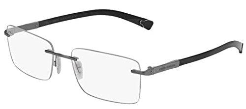 Dolce & Gabbana DG1260 Eyeglasses-04 Gunmetal - Gabbana And Store Dolce Usa