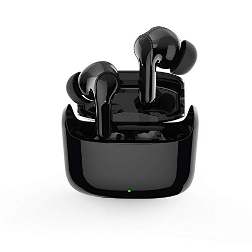 Bluetooth Earbuds 5.0 Touch with Wireless Charging Box IPX5 Waterproof Stereo Wireless Bluetooth Earpiece for iOS or Android Smartphones/Tablets/Laptops