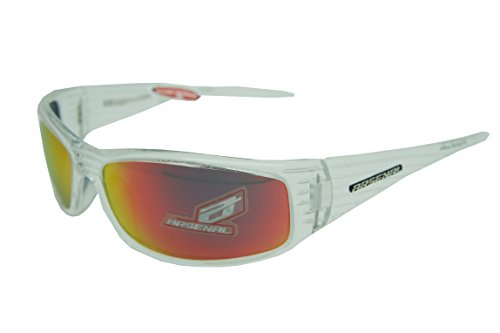 Arsenal INVADER Polarized Sunglasses Clear