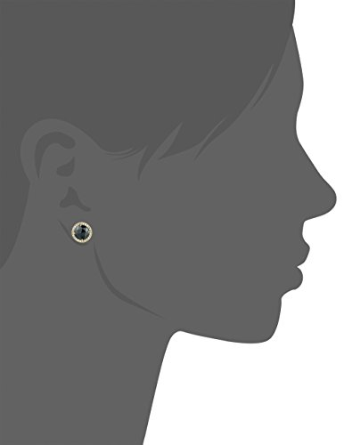 kate spade new york Bright Ideas Pave Halo Jet Stud Earrings by Kate Spade New York (Image #2)