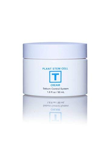 Plant Stem Cell Beauty Skin Restoration Sebum Cream Imported from Korea: Control Oil, Protect/Soothe Skin, Reduce Blemishes Acne with Active Plant Stem Cells (Clinical Strength) 1.6 fl. oz (Plant Stem Cells)