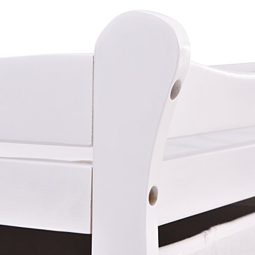 Costzon Baby Changing Table Infant Diaper Nursery Station w/6 Basket Storage Drawers (White) by Costzon (Image #3)