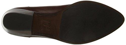 FRYE Womens Reese Venetian Slip-On Loafer Redwood Smooth Oiled Veg Leather VR6fqL