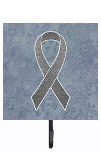 UPC 615872855995, Caroline's Treasures AN1211SH4 Grey Ribbon For Brain Cancer Awareness Leash or Key Holder, Small, Multicolor