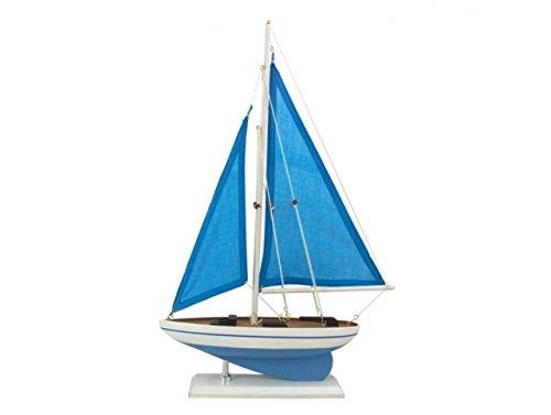 Hampton Nautical sailboat17-101 Wooden Blue Cove sailboat17-101 Sailboat 17