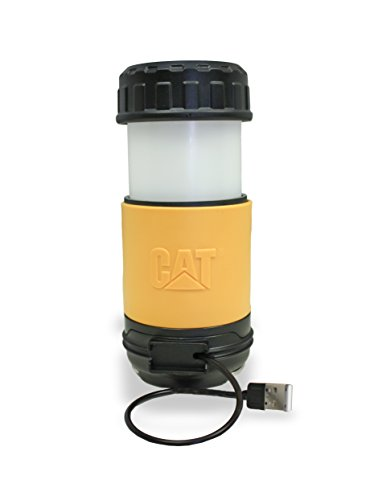 CAT CT6515 Dual Function Rechargeable Utility Worklight and Camping Lantern Emergency Light Combination by Caterpillar