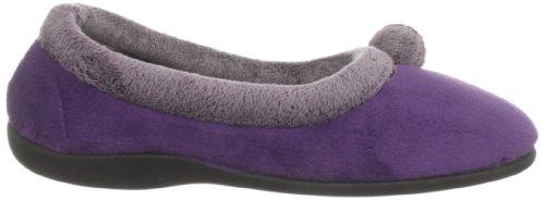 Lotus - Zapatillas de casa para mujer Morado (Lavendel)