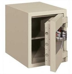 Hour Record One Safe - FireKing 1 Hour Fire & Burglary Rated Record Safe With 1 Shelf FB2218C1